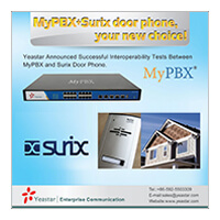 Yeastar Announced Interoperability Tests Between MyPBX And Surix Door Phone!
