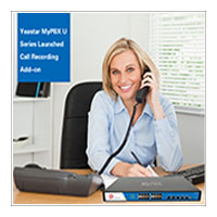 Yeastar MyPBX U Series Launched Call Recording Add-on!