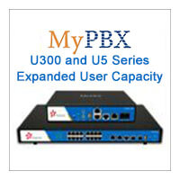 MyPBX U300 And U5 Series User Capacity Is Expanded