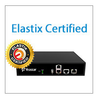 NeoGate TE100 And Elastix Compatibility Is Officially Certified