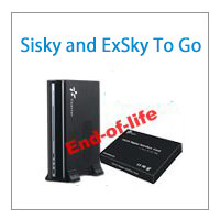 End-of-life And End-of-Service Announcement For SiSky And ExSky To Go