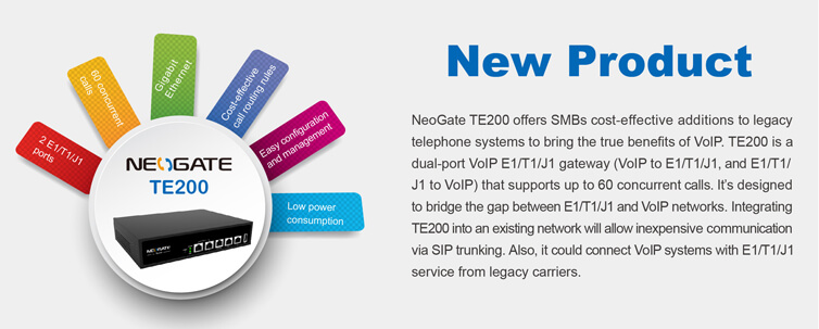 yeastar te200 voip gateway features