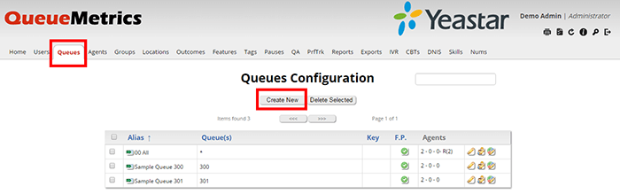 QueueMetrics Live Integration-App center