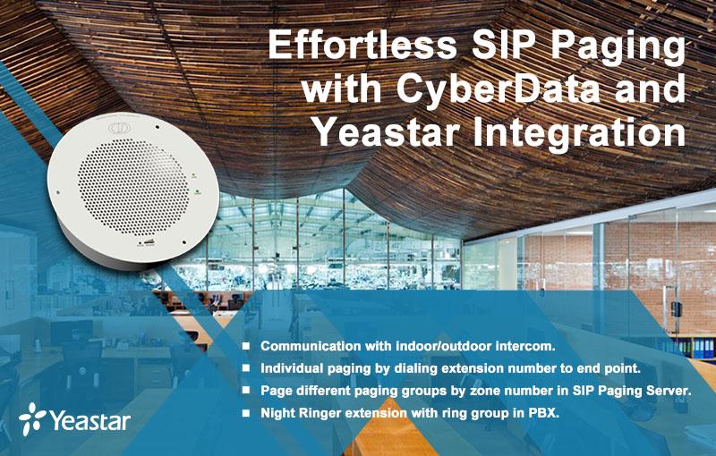 yeastar pbx-cyberdata
