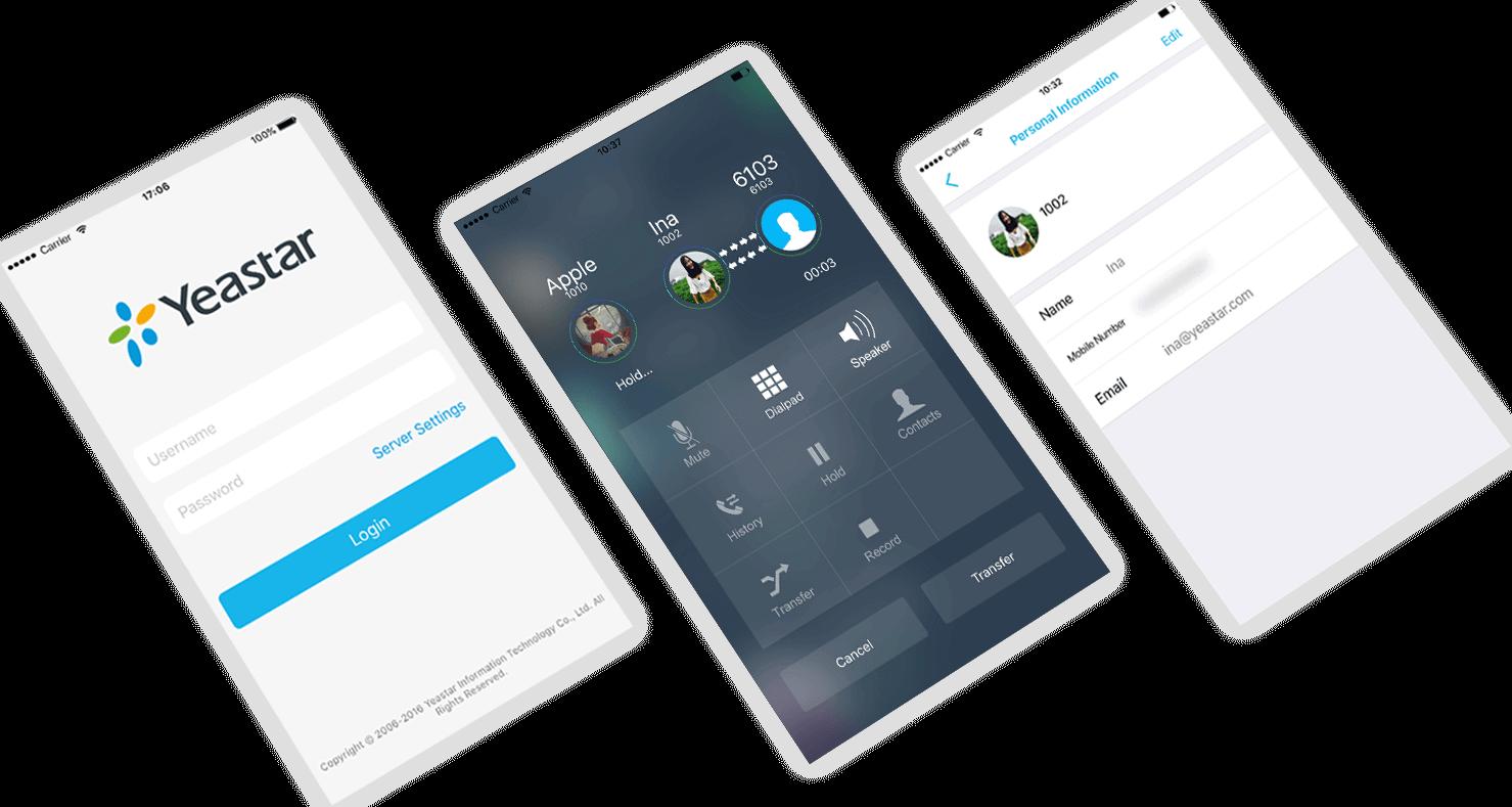 mobile client app
