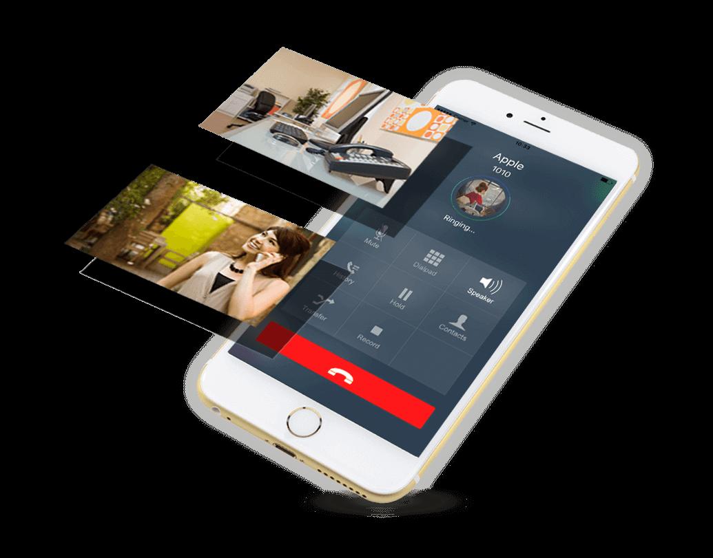 mobile service client
