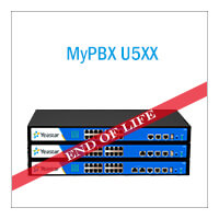 End Of Sale Notice For MyPBX U5 Series