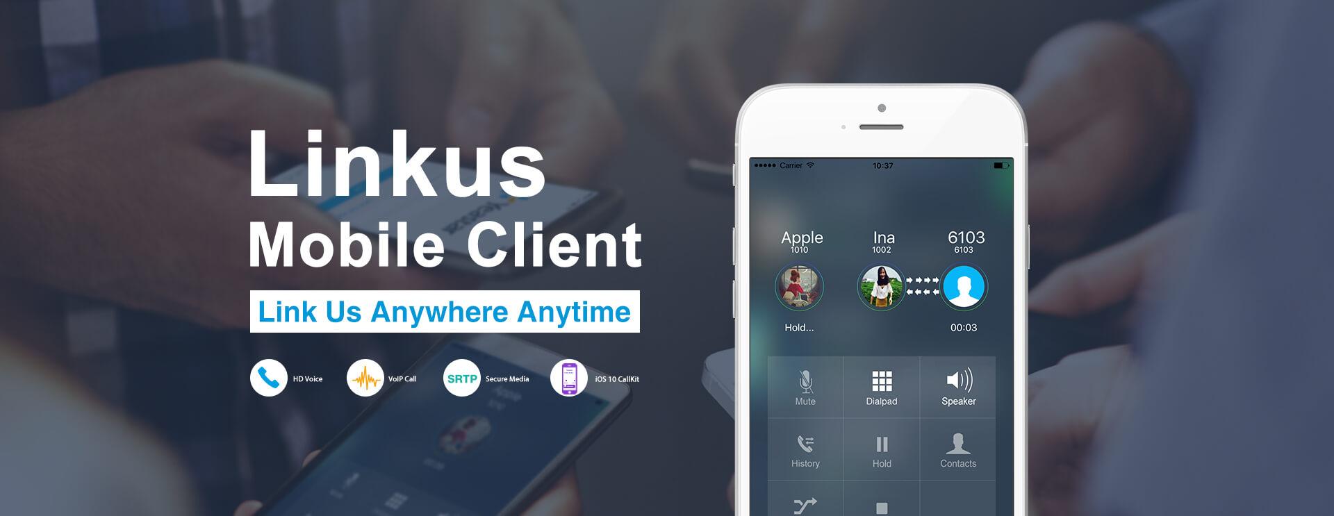 Linkus-mobile-client-banner