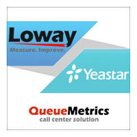Yeastar Announces A New Partnership With Loway Switzerland For S-Series VoIP PBX Integration With QueueMetrics Live
