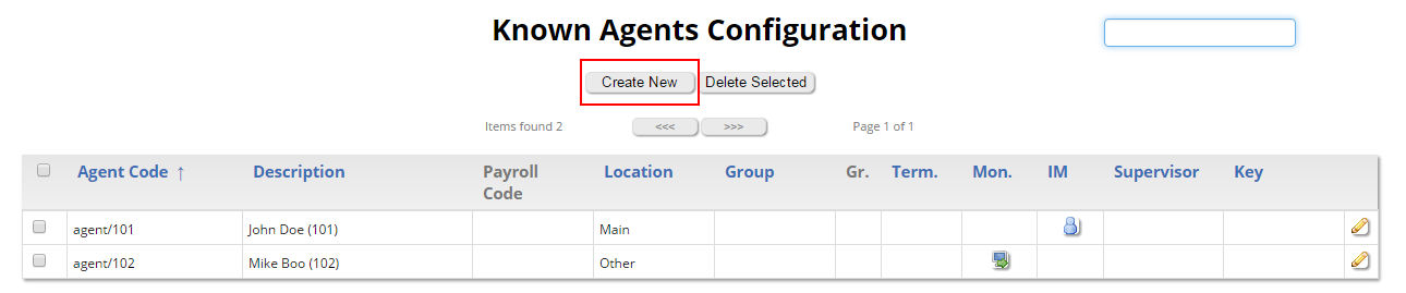 Create Agents on QueueMetrics Call Center