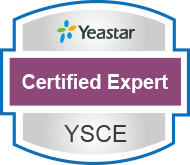 yeastar certified expert verification
