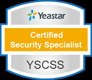 yeastar certified security specialist verification
