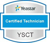 yeastar certified technician verification