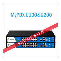 End Of Sale Notice For MyPBX U100 And U200