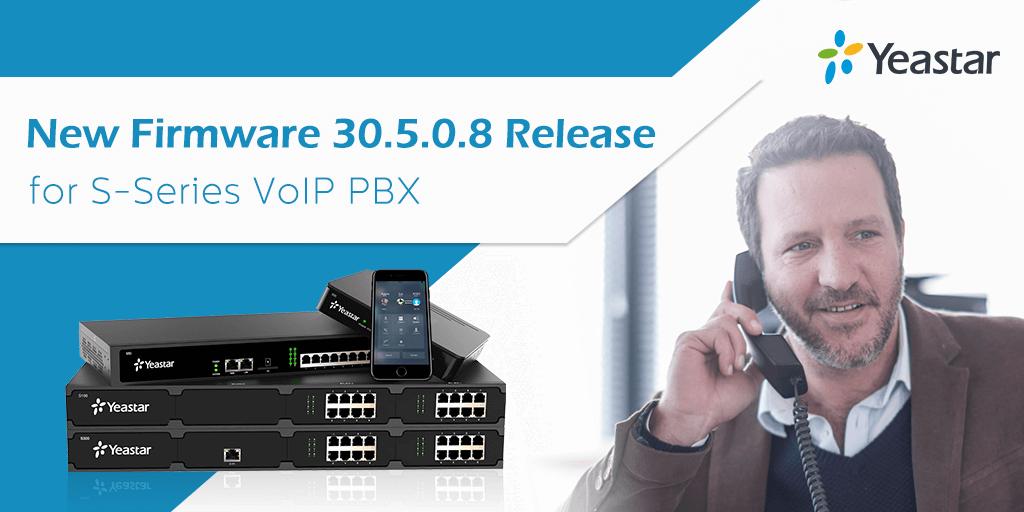 S-Series VoIP PBX New Firmware FB