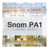 Snom PA1 Is Fully Compatible With Yeastar S-Series VoIP PBX
