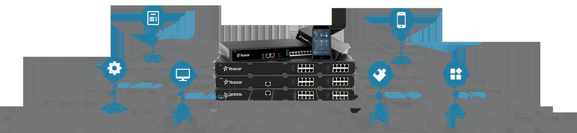 S-Series VoIP PBX