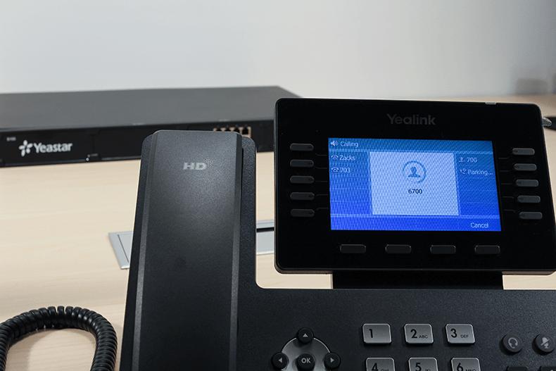 Yealink T54S Ekranı