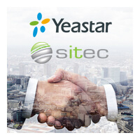 Yeastar and Sitec Distribution Partnership