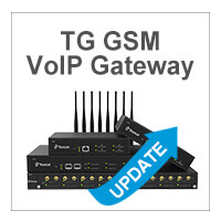 New Firmware 91.2.0.4 Release For TG Series VoIP Gateway: Optimized SMS Feature And More