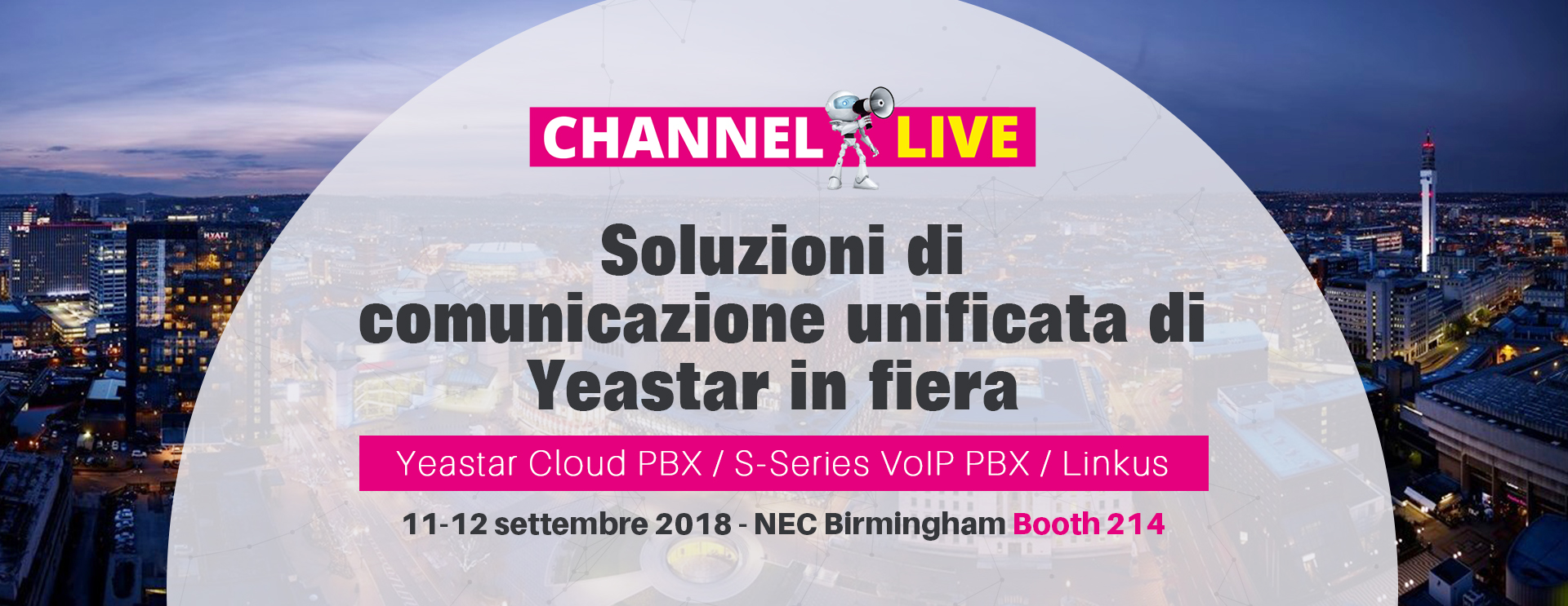 Channel Live Banner Italy