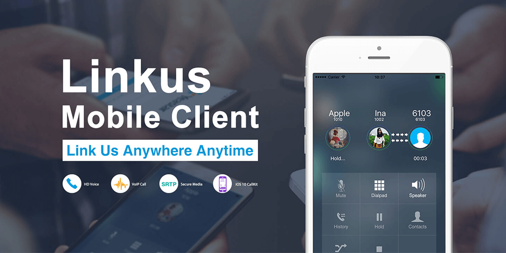 Yeastar Linkus Mobile Client | VoIP Softphone | Yeastar