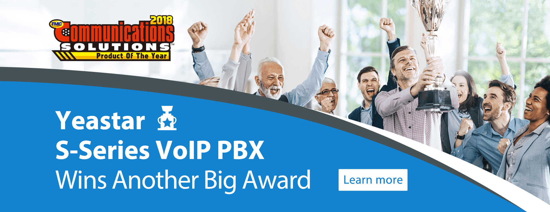 Yeastar S-Series VoIP PBX Wins Another Big Award