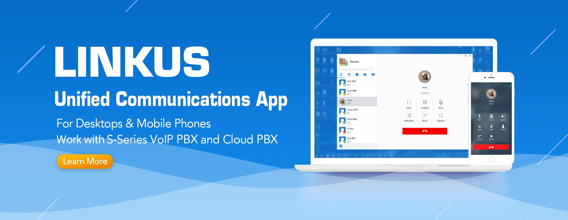 Linkus Unified Communications App