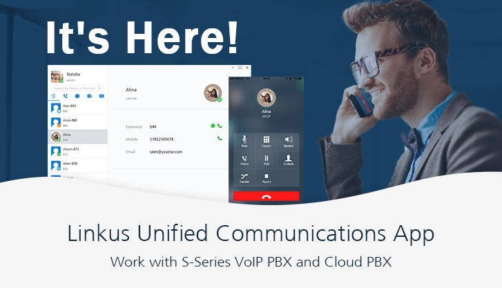 Linkus Unified Communications App Is Released