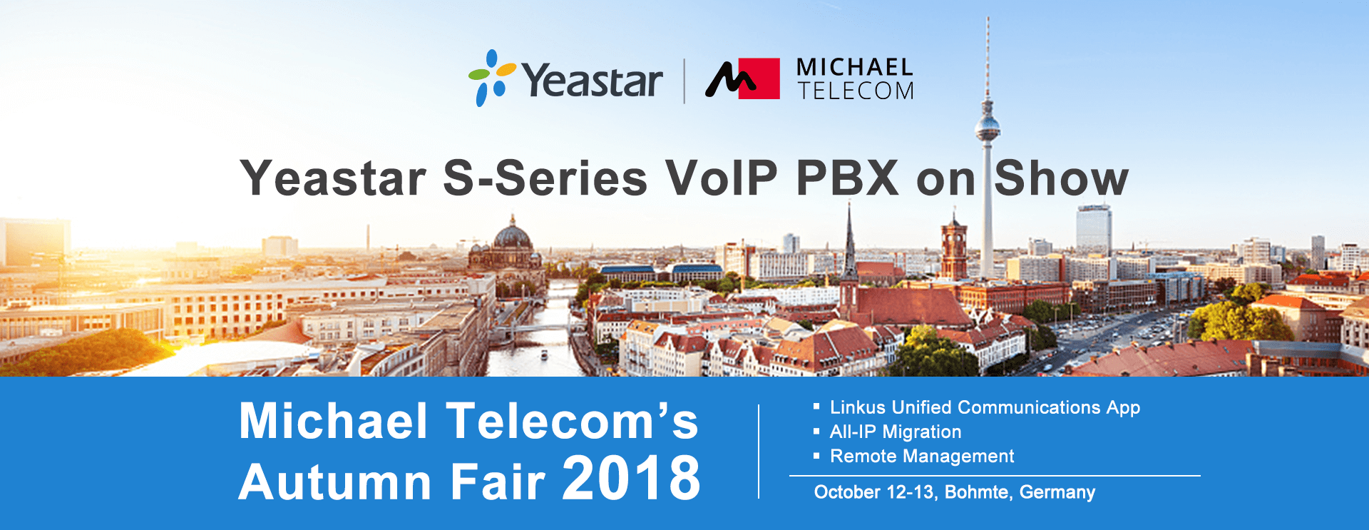 Michael Telecom's Autumn Fair 2018
