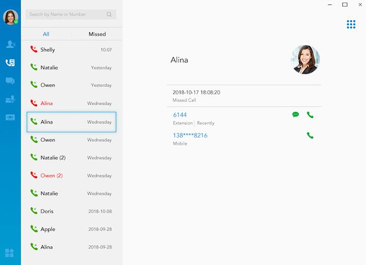 Linkus Unified Communications App | Linkus UC Softphone