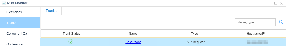 BassPhone trunk status