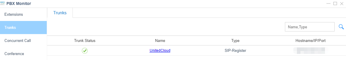 unitedcloud-trunk-status