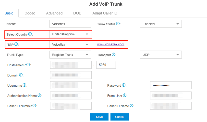Voiceflex_Yeastar_Configuration_Add_Trunk