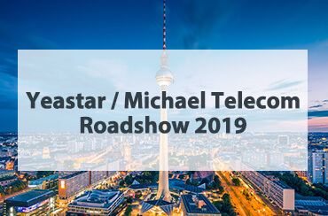 Yeastar Michael Telecom Roadshow 2019 Event