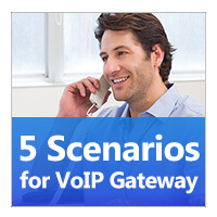5 Scenarios For Voip Gateway Icon