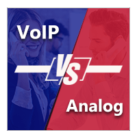 VoIP Vs. Analog Phone System