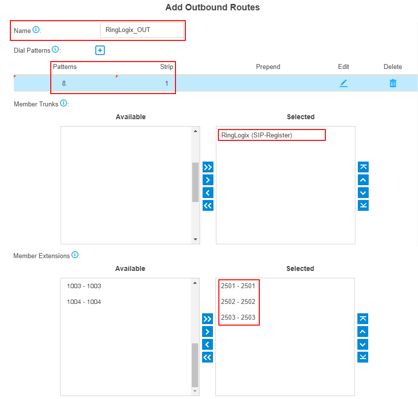 ringlogix-add-outbound-route