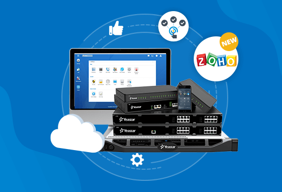 Yeastar PBX New Firmware Released With Zoho Integration And More!