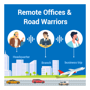 Remote Offices & Road Warriors