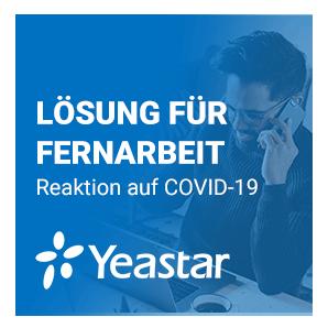 Yeastar Bietet Kostenlose Fernarbeitslösung An, Um KMU Bei Der Bekämpfung Von COVID-19 Zu Unterstützen