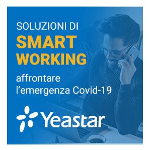 Yeastar Offre Soluzioni Per Lo Smart Working Gratuite Per Aiutare Le PMI Ad Affrontare L'emergenza Covid-19