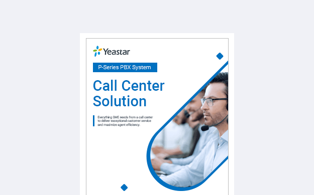 Yeastar P-Series Call Center Solution