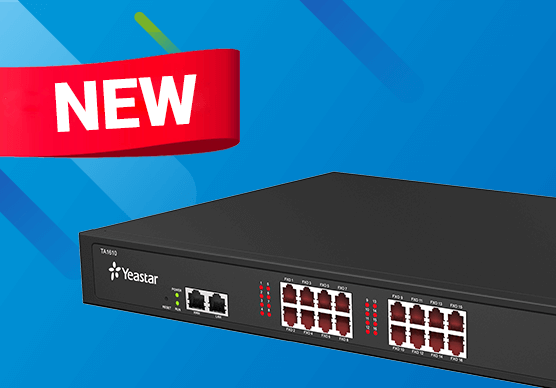 Yeastar TA1610 FXO VoIP Gateway New Version With New Hardware Design Released Today