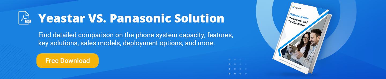 Brochure: Yeastar vs. Panasonic PBX Solution