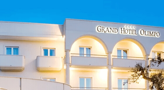Grand Hotel Olimpo in Italy