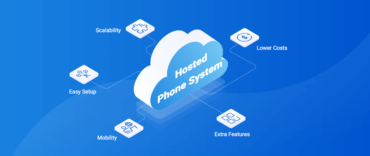 How does a PBX phone system work