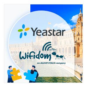 Wifidom Y Yeastar Firman Un Acuerdo De Distribución Para El Mercado Español